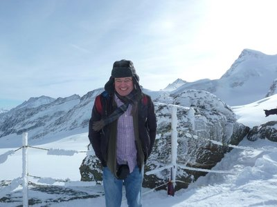 Me out on the Plateau - minus 23 degrees Centigrade!