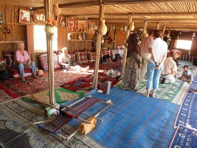 There was another small group visiting the Bedouins with us