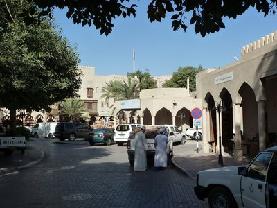 Street scene in Nizwa by the Souq