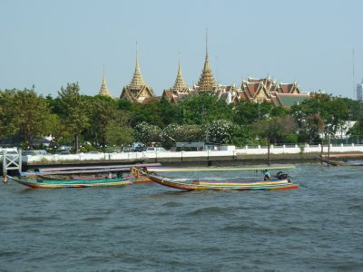 The Grand Palace Complex from the Phraya River