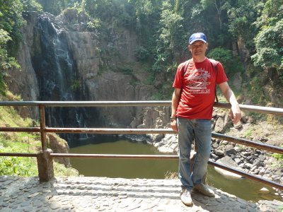 Me by the Haew Narok Waterfall