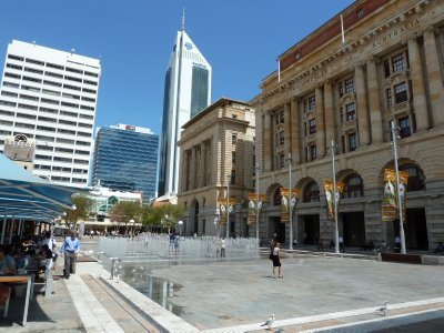 The General Post Office on Forrest Place, Perth