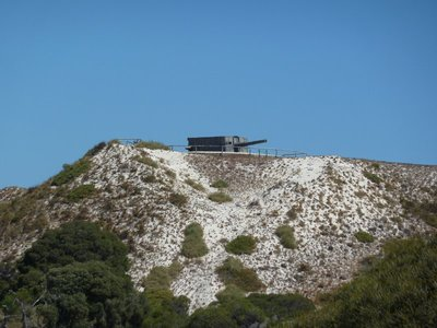 The WW2 Gun Battery on Oliver Hill