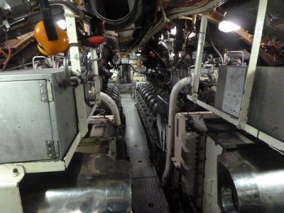 HMAS Ovens Engine Room