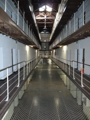 Inside one of the division wings at Fremantle Prison