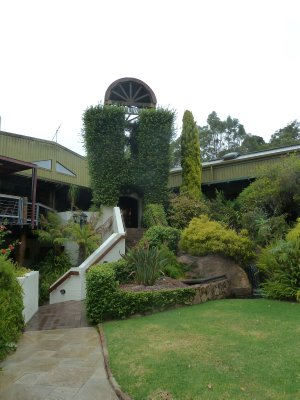 The entrance to the Leeuwin Estate Winery