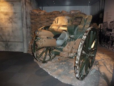 World War I Field Gun at the Auckland Museum