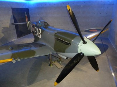 Spitfire in the Auckland Museum