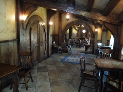 Inside the Green Dragon Pub