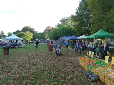 The Sunday Farmer's Market in Hastings