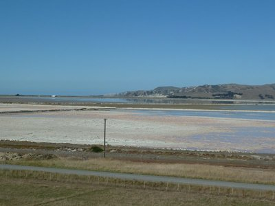 The Lake Grassmere Salt Lagoon