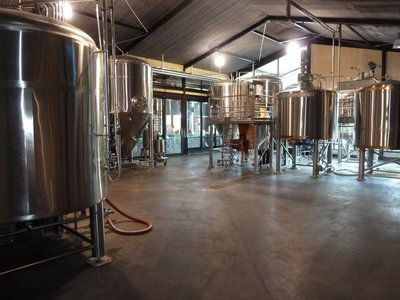Inside Monteith's Brewery in Greymouth