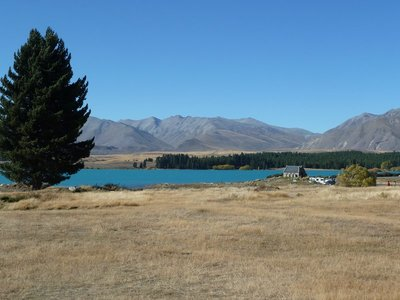 The Church of the Good Shepherd overlooking Lake Tekapo
