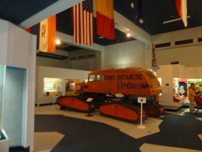 Ferguson Sno-Cat on display at the Canterbury Museum in Christchurch