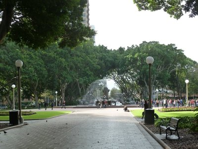 The Archibald Fountain in Hyde Park in Sydney