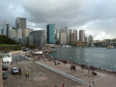 The Circular Quay from the Sydney Opera House