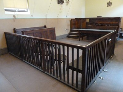The Court Room at the Hyde Park Barracks