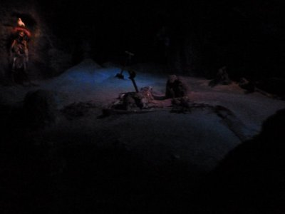 Inside the Pirates of the Caribbean Ride in New Orleans Square