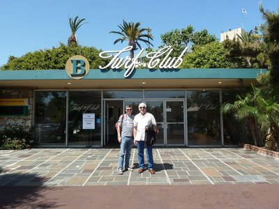 The Turf Club Entrance at the Hollywood Park Race Track