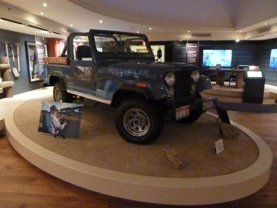 Ronald Reagan's 1983 CJ-8 Scrambler Jeep