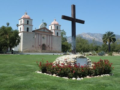 The Old Mission at Santa Barbara