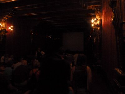 The private Movie Theater inside the Casa Grande