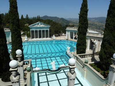 The Neptune's Pool at Hearst Castle