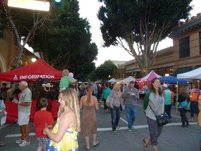 The Thursday night Farmer's Market in San Luis Obispo