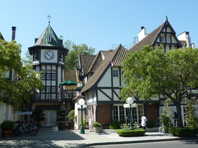 Tivoli Square in Solvang