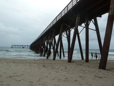 The pier at the Rosarito Beach Hotel