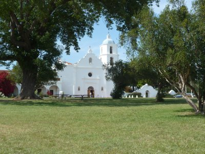 Another view of the Mission San Luis Rey de Francia at Oceanside