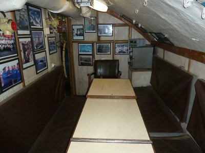 Officer's Ward Room aboard the b-427 Scorpion