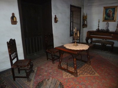 The Parlour or Sitting Room in the Avila Adobe