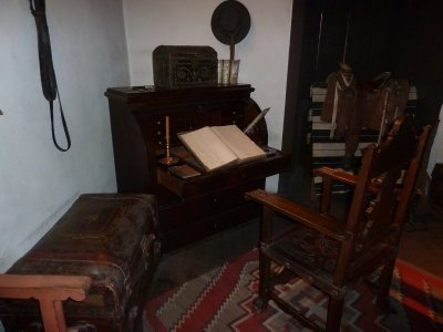 The Office in the Avila Adobe were the business affairs of the vineyard and ranch were transacted