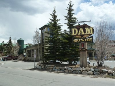 The Dillon Dam Brewery in Summit County