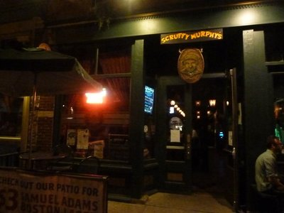 Scruffy Murphys Irish Bar in Denver where we went to celebrate (didn't I visit its namesake in Sydney?)