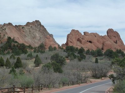 More amazing rock formations at the Garden of the Gods
