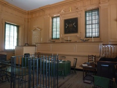 Courtroom of the Pennsylvania Supreme Court