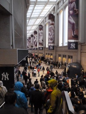 The West Concourse inside Yankee Stadium