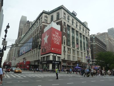 Macy's flagship store on 34th Street