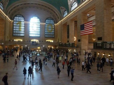 The Main Concourse of Grand Central Terminal