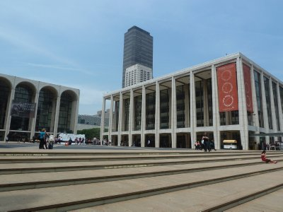 Lincoln Center - the world's largest performing arts centre