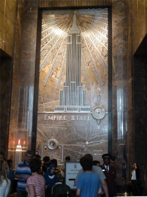 Déjà vu - the lobby of the Empire State Building