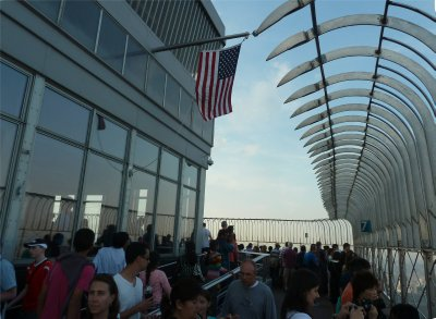 The Observation Deck on the 86th floor of the Empire State Building