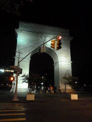 The Washington Arch in Greenwich Village