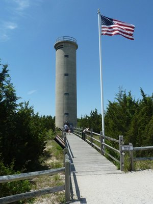 WWII Lookout Tower at Cape May