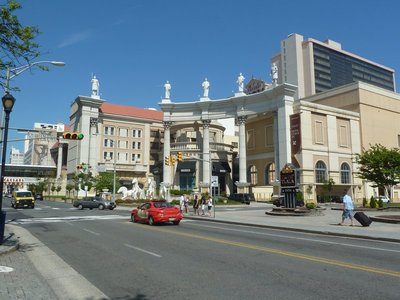 View along Pacific Avenue in Atlantic City