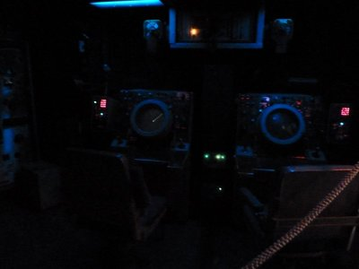 The Operations Room in more usual dimly lit mode (i.e. without the camera flash!)