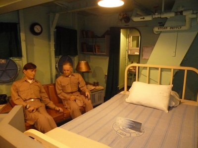 Helsey-era Chief of Staff Stateroom aboard the USS New Jersey