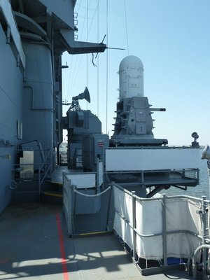20 mm/76 cal. Phalanx Battery aboard the USS New Jersey